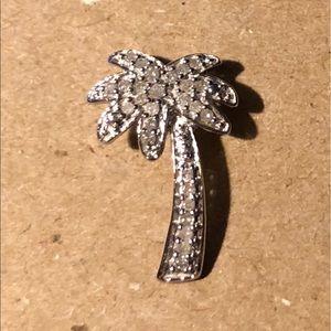 Jewelry - Diamond palm tree pendant